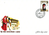 Kosovo - BRIDE HOOD RITUAL FDC - First Day Cover