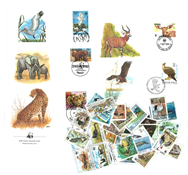 WWF 50 timbres