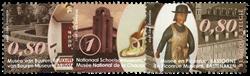 Belgien - Museer - Postfrisk sæt 3v