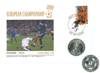 France - Football envelope - UEFA 2000