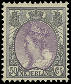 Holland - NVPH 75 - 50 - Ubrugt