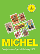 Michel special stamp catalogue - The Soviet Union - 2007