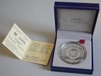 Frankrig 2000 sølvmønt proof med ægthedsbevis Ø 37  mm, vægt 22,2
