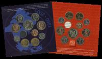 Belgique - Collection annuelle de monnaies l'an 2000