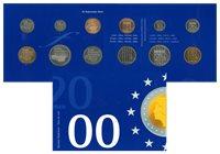 Pays-Bas - Série de monnaies de l'an 2000