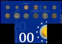 Holland - Møntsæt - 2000