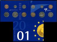 Holland - Møntsæt - 2001