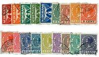 Pays-Bas 1925 -  NVPH R1 - 18 - Oblitéré
