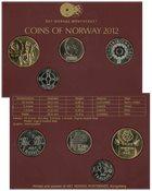 Norge møntsæt 2012