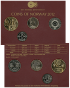 Norvège 2012 monnaie Collection annuelle
