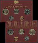 Norvège 2004 monnaie Collection annuelle