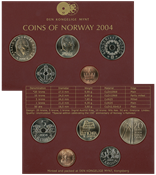 Norge - Møntsæt 2004