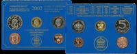 Suède 2002 monnaie Collection annuelle