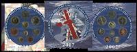 Grande-Bretagne - Collection annuelle de monnaies 2007
