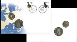 Møntbrev Pund/Euro møntbrev