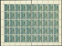 Danmark jul 1922 foldet/delt