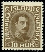 Island 1931-33 - AFA nr.161 - Ubrugt