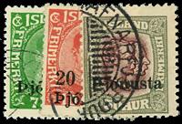 Island 1936 - AFA nr.63-65 - Stemplet