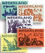 Pays-Bas - NVPH 722-726 - Neuf