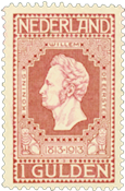 Holland 1913 - NVPH 98 - Ubrugt