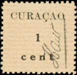 Curacao - Hulpuitgifte 1918 (nr. 73, ongebruikt)