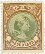 Holland - NVPH 46 - Ubrugt