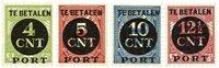 Holland 1924 - NVPH P65-P68 - Ubrugt