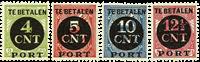 Nederland 1924 - Nr. P65-P68 - Ongebruikt