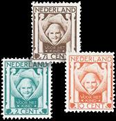 Nederland 1924 - Nr. 141-143 - Ongebruikt