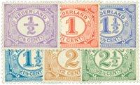 Holland 1899-1913 - NVPH 50-55 - Ubrugt