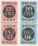 Holland - NVPH P67a+P68a - Ubrugt