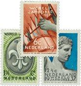 Holland 1936 - NVPH 293-295 - Ubrugt