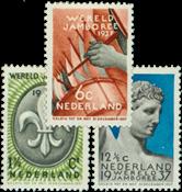Netherlands 1936 - NVPH 293-295 - Unused