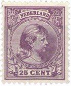 Holland - NVPH 42 - Ubrugt