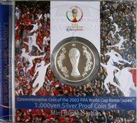 Japon Coupe du Monde 2002 monnaie en argent