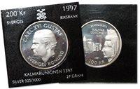 Suède - Monnaie en argent - Kalmaruni 1997