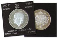 Sverige mønt Carl XXI Gus 50år