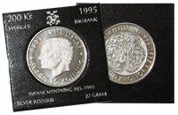 Sverige møntudgivelse 1995