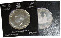 Sverige mønt Regalskibet VASA