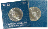 Sverige mønt Europæiske Musik