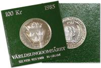 Ruotsi  - Kolikko 1985