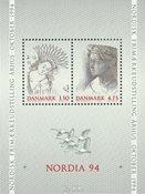 Danemark - Bloc Nordia 1994 neuf