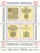 Danmark 1987 - Hafnia blok II - Postfrisk