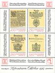 Danmark 1987 - Hafnia blok I - Postfrisk