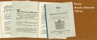 Danemark Anniversaire 150 ans Carnet avec blocs *