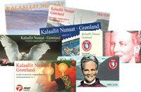 Groenland - 8 carnets oblitérés et neufs