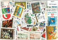 Hungary - 1000 different stamps