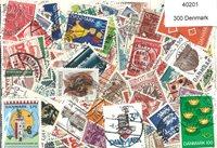 丹麦-300枚不同的邮票