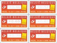 Belgique - Belgica - Série neuve 6v distributeur