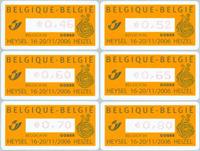 Belgique - Cobra - Série neuve 6v distributeur